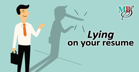 lying on your resume - Lying On Resume