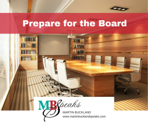 Prepare for the Board